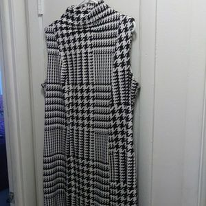 "Ashley Stewart size ""18"" black/white dress"